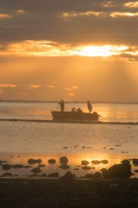 Fishermen off to work at 05:30 - legal or illegal methods?