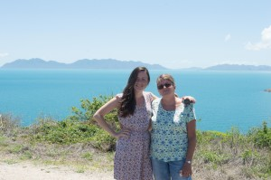 The beautiful lookout at Bowen, on the way to Townsville