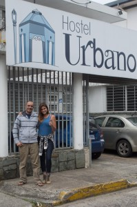 Juan and Claudia two of the awesome staff at Hostel Urbano