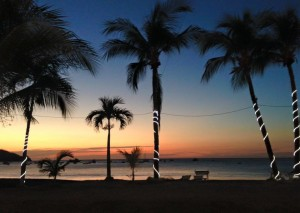 Playa del Coco sunset